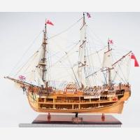 TS389 HMS Endeavour Open Hull(Large)/ HMSエンデバー スケルトン(L)美術館スペック