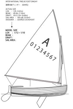 オリジナル開発準備艇の御案内 国際A級ディンギー  I